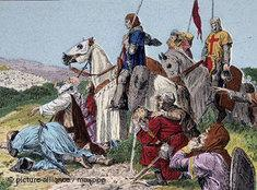 Kreuzzug im heiligen Land: die Einnahme Jerusalems 1099; Foto: dpa