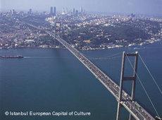 Bosporus-Brücke in Istanbul; Foto: DW