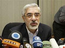 Mir Hossein Mussawi; Foto: AP