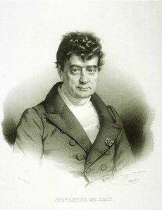 Sylvestre de Sacy; Foto: wikimedia commons