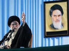 Irans oberster Führer Ali Khamenei; Foto: AP