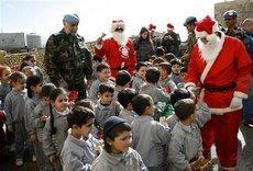 Weihnachtsfest im Libanon; Foto: AP