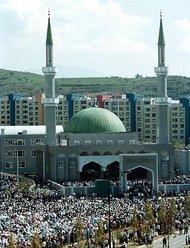 Moschee in Sarajevo; Foto: AP