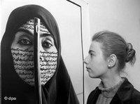 Ausstellung von Shirin Neshat; Foto: dpa