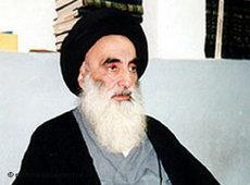 Iraks Großayatollah Ali Al-Sistani; Foto: dpa