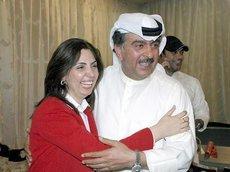 Rola Dashti und ihr Vater; Foto: dpa
