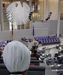 Bundestagsdebatte zur Deutschen Islamkonferenz; Foto: AP