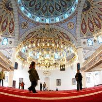 Die Duisburger Merkez-Moschee; Foto: AP