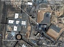 Atomforschungsanlage in Natans, Iran; Foto: AP