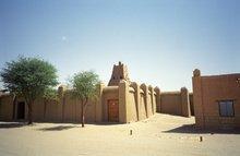 Sankóre-Moschee in Timbuktu; Foto: Wikimedia Commons