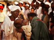 Islamisches Dhikr-Ritual im Sudan; Foto Steve Evans