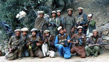 Mudschaheddin in Afghanistan; Foto: Wikipedia