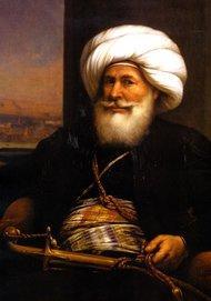 Ein von Auguste Couder 1840 gemaltes Portrait von Muhammad Ali ; Foto: Wikipedia