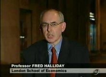 Fred Halliday; Foto: YouTube