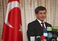 Der türkische Außenminister Ahmet Davutoğlu; Foto: AP