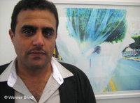 Künstler Abdulnasser Gharem; Foto: DW/Werner Bloch
