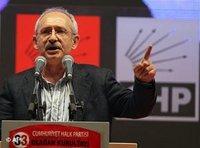CHP Parteichef Kemal Kılıcdaroğlu; Foto: AP