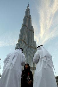 Burg Khalifa in Dubai; Foto: AP