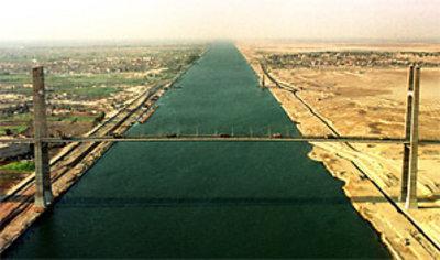 Suezkanal; Foto: AP