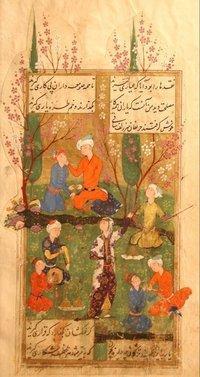 Divan von Hafiz 1585; Quelle: Wikipedia