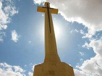 Commenwealth Kriegsgräberdenkmal für die britischen Gefallenen bei der Schlacht von el-Alamein; Quelle: Wikipedia