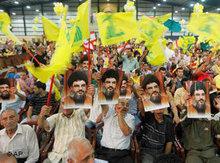 Anhänger der Hizbullah; Foto: AP
