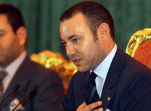 Mohammed VI. von Marokko; Foto: AP