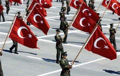 Türkische Militärparade; Foto: AP