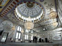 Fatih-Moschee in  Wülfrath, NRW; Foto: AP