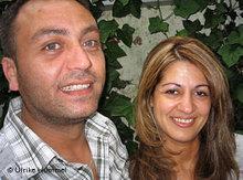 Haider Omar und Azima Moustafa; Foto: Ulrike Hummel