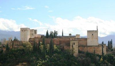 Ansicht der Alhambra; Foto: Troy Nahumko