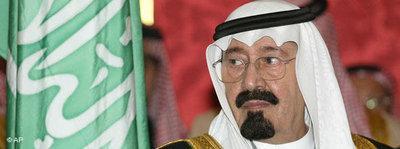 Saudischer König Abdallah; Foto: AP