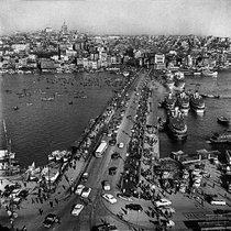 Galata-Brücke (1965); Foto: Ara Güler