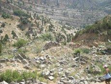 Reste des Aphrodite-Tempels in Afqa: Foto: Mona Naggar