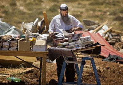 Jüdischer Siedler im Westjordanland; Foto: AP