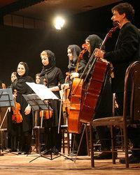 Orchester aus Teheran; Foto: Morgenland Festival