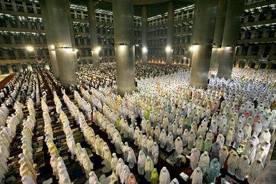 Muslimische Frauen beim Gebet; Foto: AP