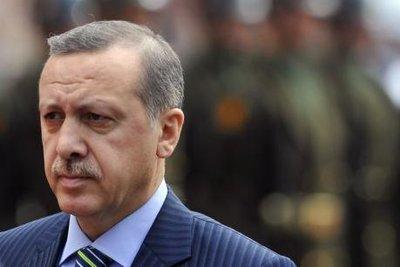 Türkischer Premier Erdogan; Foto: AP