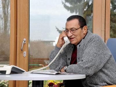 Hosni Mubarak; Foto: dpa