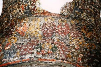 Zerstörte Ikonendarstellungen in Sumela; Foto: Iason Athanasiadis