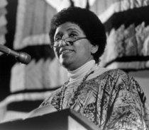 Audre Lorde; Foto: www.freedomarchive.org