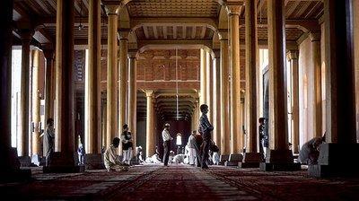 Jamia-Masjid-Moschee in Srinagar, Kaschmir; Foto: Wikimedia Commons