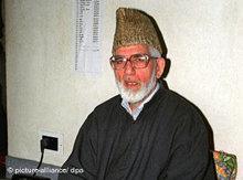 Syed Ali Geelani; Foto: AP