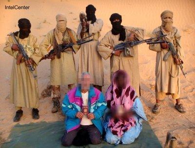 Entführte italienische Geiseln in Mauretanien; Foto: dpa