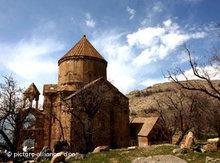 Heilig Kreuz Kirche in Akdamar/Van; Foto: dpa
