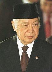 Ehemaliger indonesischer Staatspräsident Haji Mohamed Suharto; Foto: AP