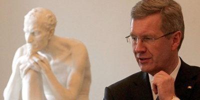 Bundespräsident Christian Wulff; Foto: dpa