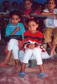 Schulkinder in Marokko; Foto: Martina Sabra