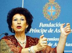 Fatima Mernissi; Foto: AP