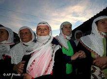 Bulgarische Musliminnen; Foto: AP